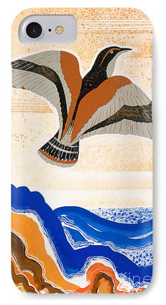 Odyssey Illustration  Bird Of Potent Phone Case by Francois-Louis Schmied