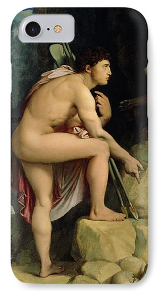 Oedipus And The Sphinx IPhone Case by Ingres