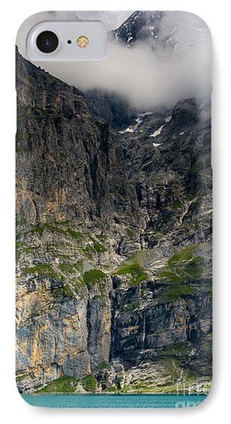 Oeschinensee Mountain - Bernese Alps - Switzerland IPhone Case