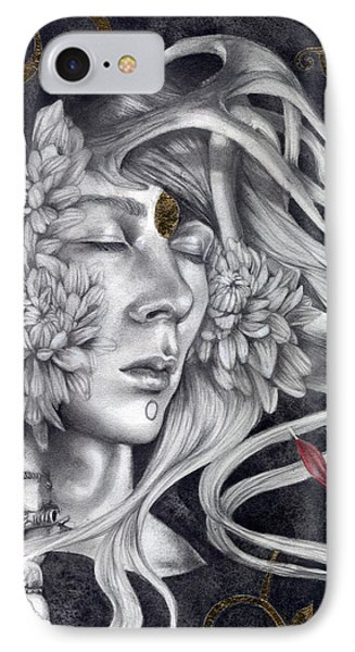 Of Love And Shadows IPhone Case by Patricia Ariel
