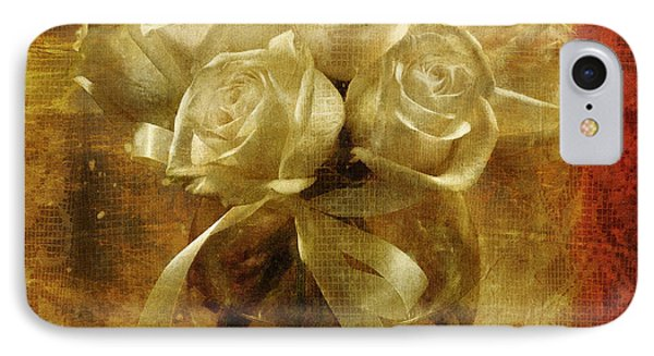 Of Roses And Lace IPhone Case by Lois Bryan