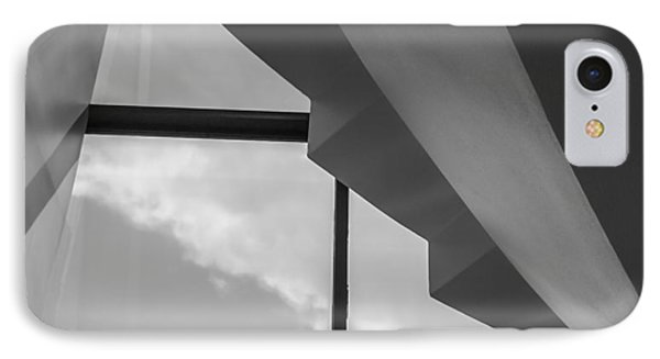 IPhone Case featuring the photograph Off Angle - Abstract by Steven Milner