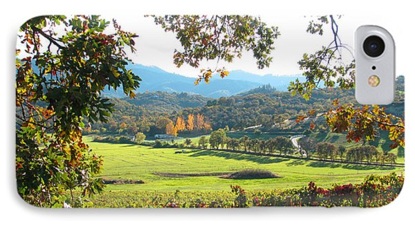 View From Carpenter Hill Road IPhone Case by Brooks Garten Hauschild
