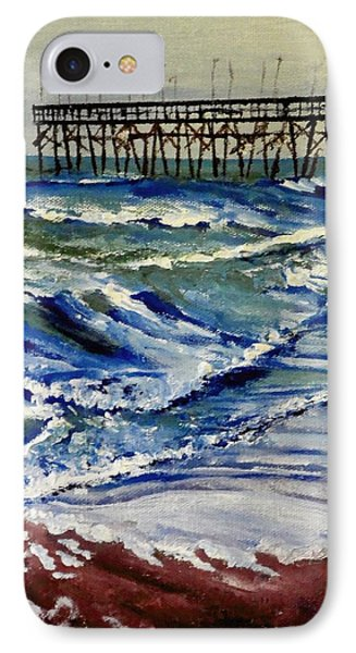 Off Season At Northtopsail IPhone Case by Jim Phillips