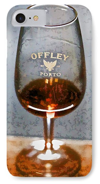 Offley Port Wine Glass Phone Case by David Letts