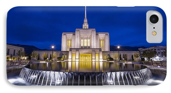 Ogden Temple II IPhone Case by Chad Dutson