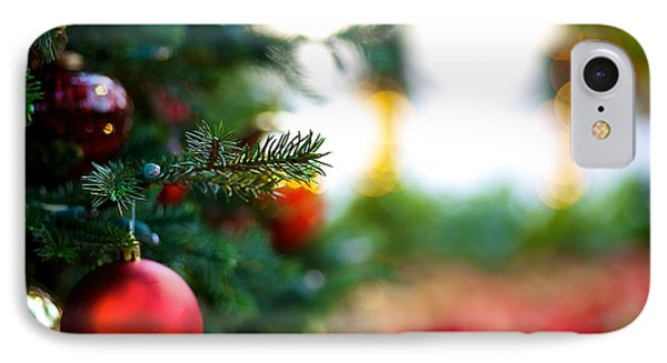 Oh Christmas Tree IPhone Case by JM Photography