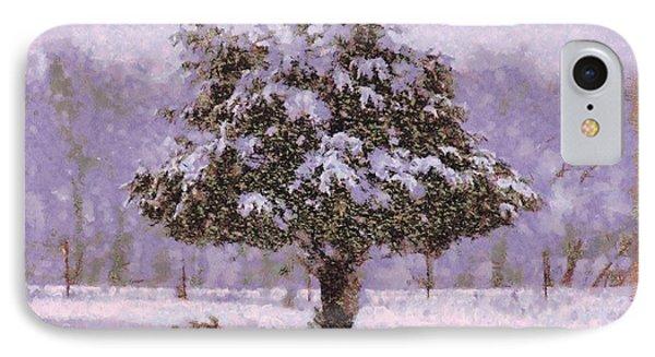 Oh Christmas Tree Phone Case by Lorri Crossno