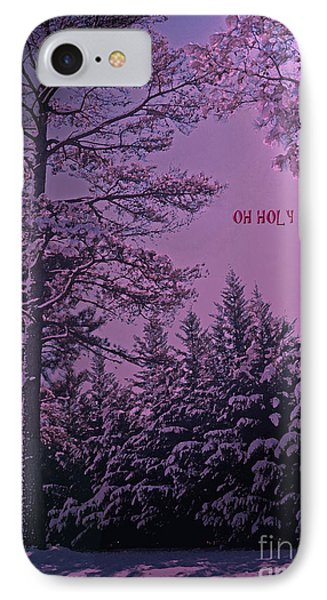Oh Holy Night IPhone Case by Lydia Holly