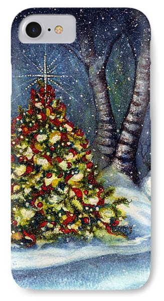 Oh My. A Christmas Tree IPhone Case by Janine Riley
