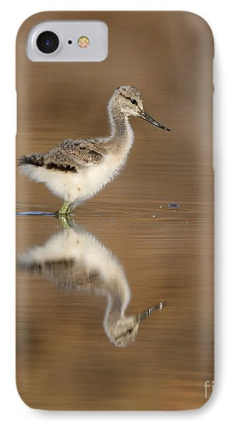 Oh So Sweet Avocet Chick Phone Case by Ruth Jolly
