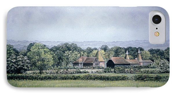 IPhone Case featuring the painting Oh To Be In England by Rosemary Colyer