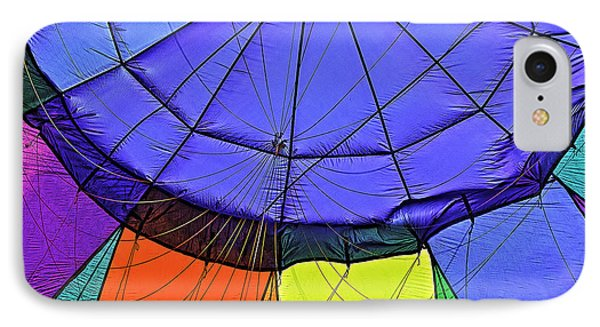 IPhone Case featuring the photograph Oh What A Giant Web We Weave by Nancy Marie Ricketts