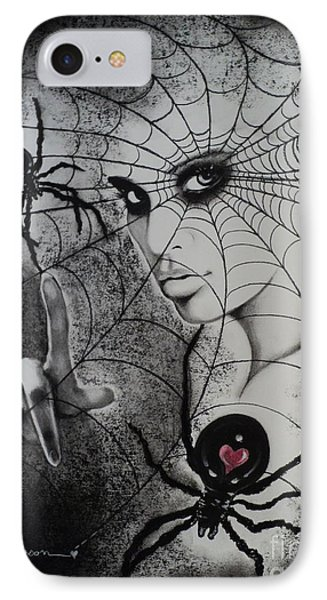 Oh What Tangled Webs We Weave Phone Case by Carla Carson