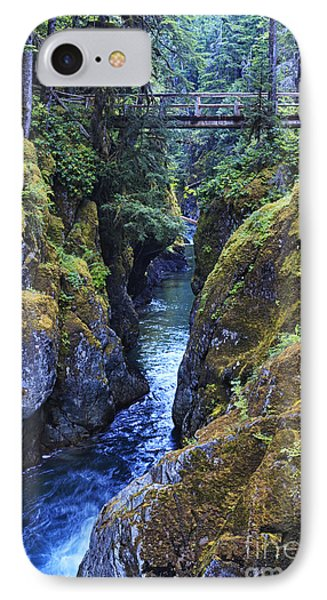 Ohanapecosh River IPhone Case by Mark Kiver