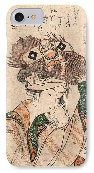 Oharame, Village Girl From Ohara. Ca. 1799 IPhone Case