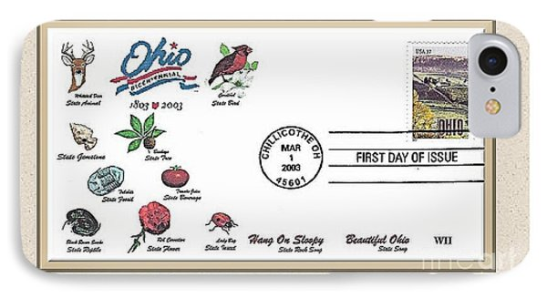 Ohio  Bicentennial Cover #1 Phone Case by Charles Robinson