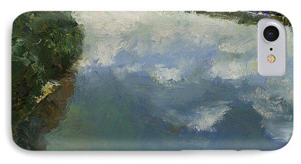 Ohio River Painting IPhone Case