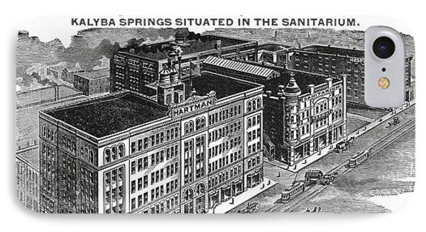 Ohio: Sanitarium, 1901 Phone Case by Granger