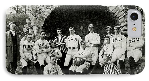 Football iPhone 7 Case - Ohio State Football Circa 1890 by Jon Neidert