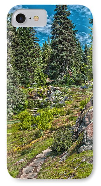 Ohme Gardens IPhone Case by Sonya Lang