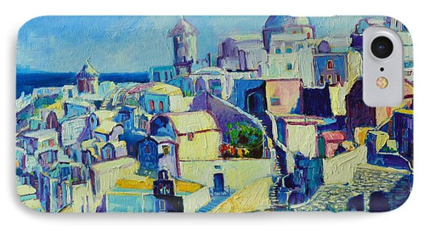 IPhone Case featuring the painting OIA by Ana Maria Edulescu