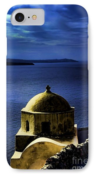 Oia Greece IPhone Case by Tom Prendergast