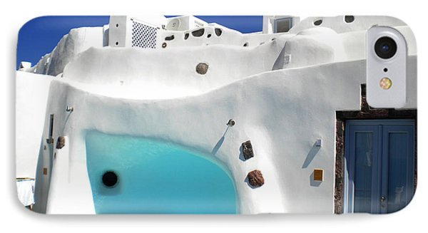 Oia Santorini  With Direct View To The Oceon Greece IPhone Case