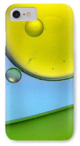 Oil And Water 26 Phone Case by Rebecca Cozart