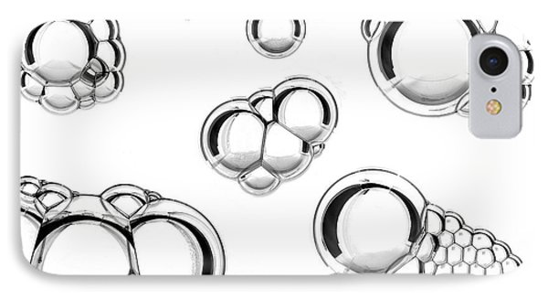 Oil And Water Mixture IPhone Case by Crown Copyright/health & Safety Laboratory Science Photo Library