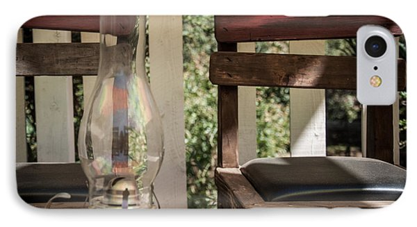 IPhone Case featuring the digital art Oil Lamp 2 by Gandz Photography