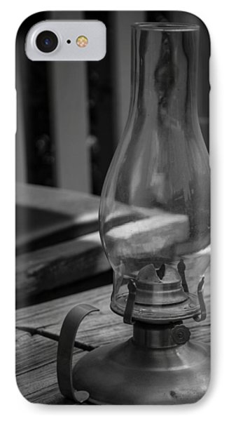 IPhone Case featuring the digital art Oil Lamp by Gandz Photography