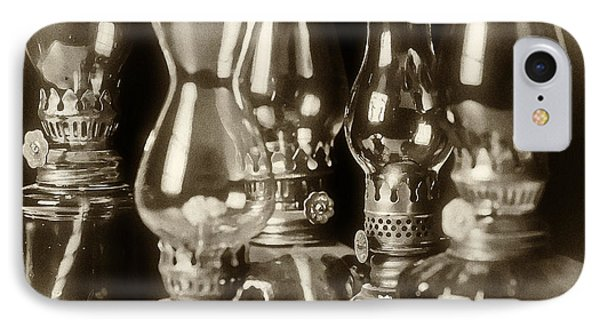 Oil Lamps Phone Case by Patrick M Lynch