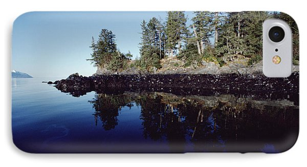 Oil Marks At High Tide Mark Prince IPhone Case by Flip Nicklin