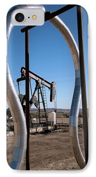 Oil Production IPhone Case