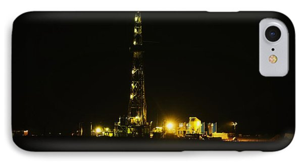 Oil Rig IPhone 7 Case by Jeff Swan