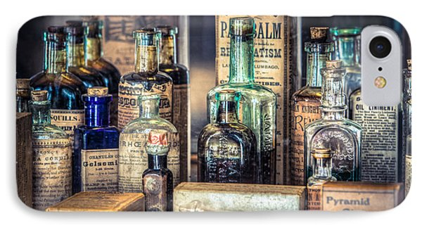 Ointments Tonics And Potions - A 19th Century Apothecary IPhone Case