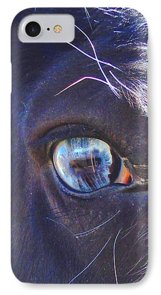 IPhone Case featuring the photograph Ojo Sarco I Captivating by Anastasia Savage Ealy