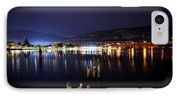 Okanagan Lake At Night IPhone Case