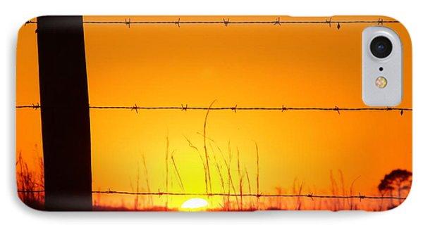 Okeechobee Farm Sunset IPhone Case