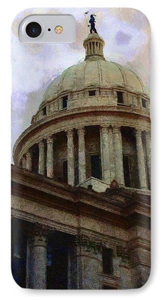 Oklahoma Capital Phone Case by Jeff Kolker