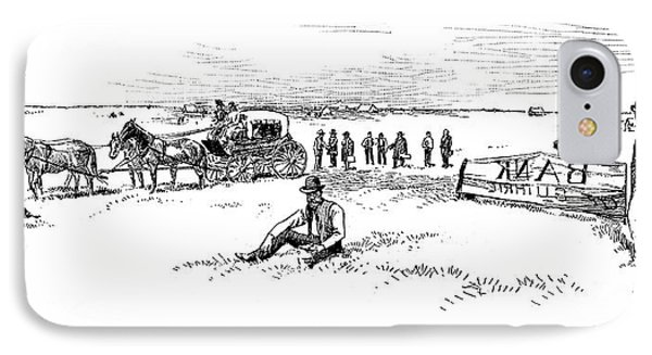 Oklahoma Land Rush, 1889 IPhone Case by Granger