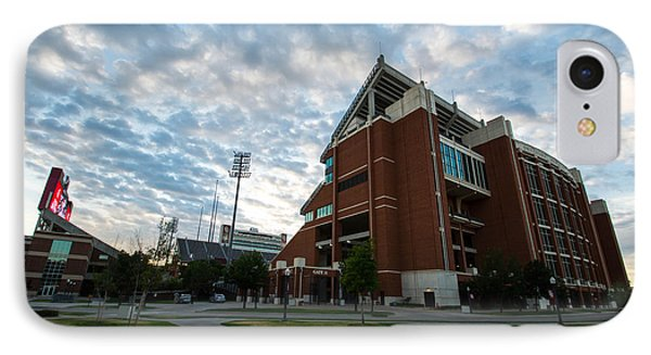 Oklahoma Memorial Stadium IPhone Case by Nathan Hillis