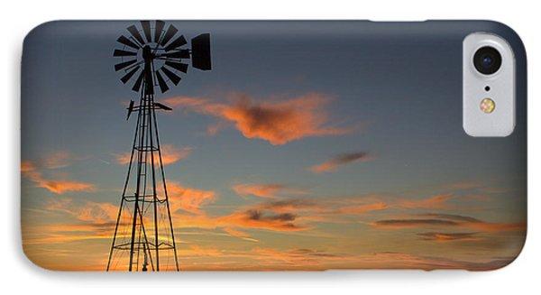 Oklahoma Skies 1 IPhone Case by Jim McCain