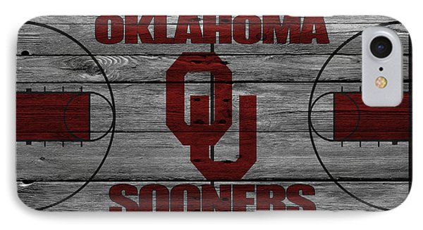 Oklahoma Sooners IPhone Case by Joe Hamilton