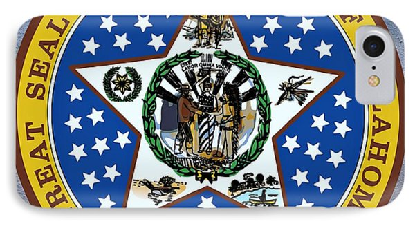 Oklahoma State Seal IPhone Case