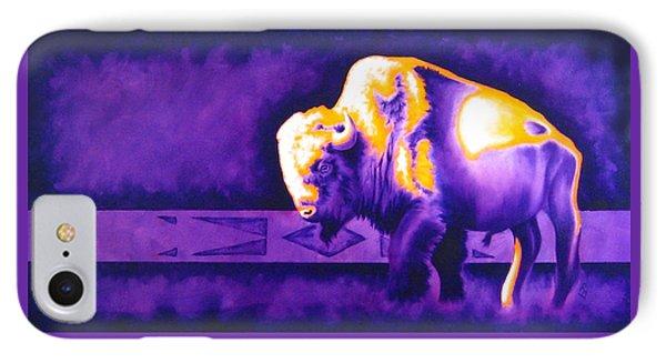 Ol' Bull IPhone Case by Robert Martinez