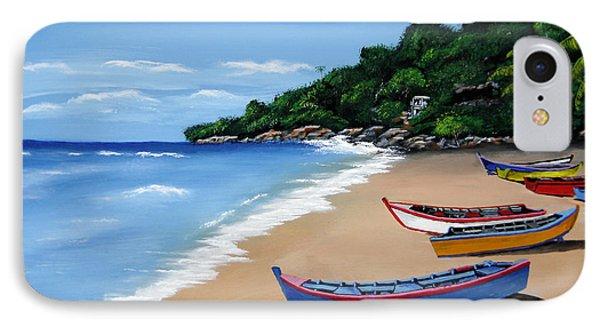 Olas De Crashboat IPhone Case by Luis F Rodriguez