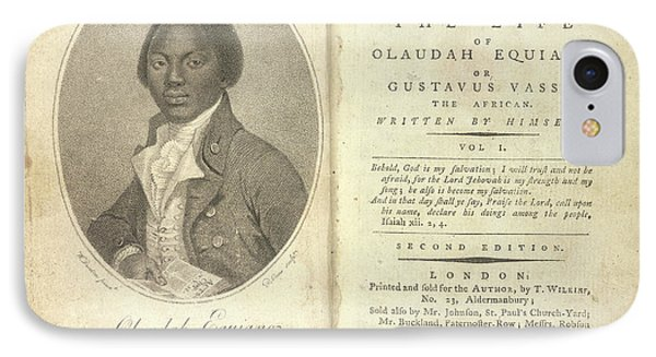 Olaudah Equiano IPhone Case by British Library