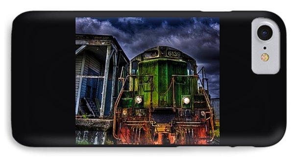 Old 6139 Locomotive IPhone Case by Thom Zehrfeld
